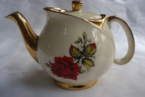 One of our lovely vintage teapots