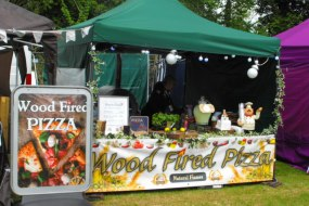 mobile wood fired pizzas