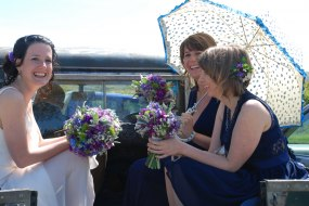 Fabulous spring wedding bouquets created by The Flower Hive
