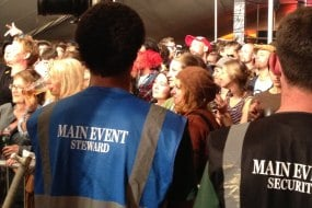 Main Event Security - Staff at event