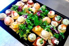 Canapes by Garnish Chesterfield
