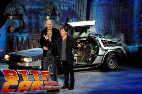 BTTF Car - Delorean Time Machine