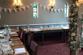 Castle Wedding in the Dining Room