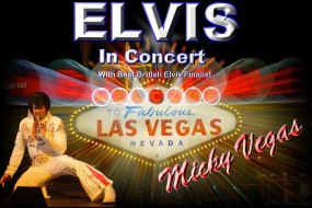 Micky Vegas as Elvis in Concert