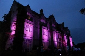 Exterior Up-Lighting in choice of many colours