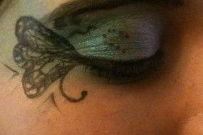 Butterfleye face paint