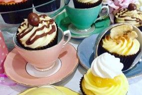 Boozy Bakers High Tea Cupcakes