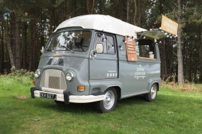 Our gorgeous vintage Renault Van