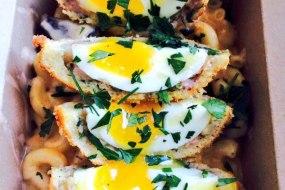 Mac n Cheese Scotch Egg