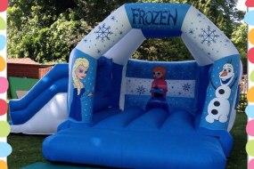 Frozen bouncy castle 17ft x 15ft for children