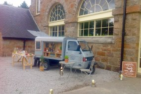 Gin & prosecco van for weddings & events in Scotland