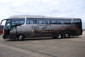 61 Seat executive coach with USB ports