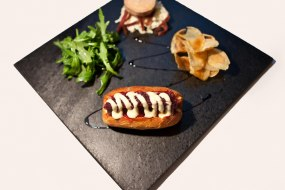 Substantial canapes