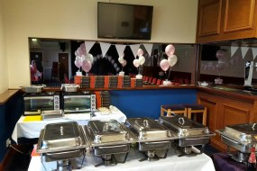 Hot buffet party catering from Dine anywhere