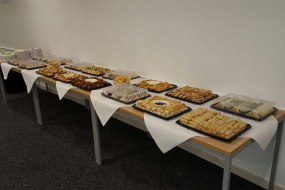 Large corporate catering from Dine anywhere