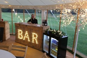 Dry hire mobile bar service