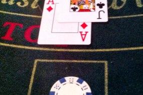 Blackjack equals 21