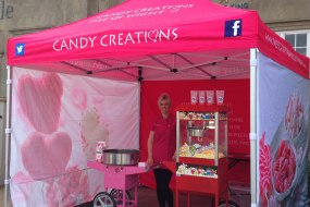 popcorn/candyfloss cart hire