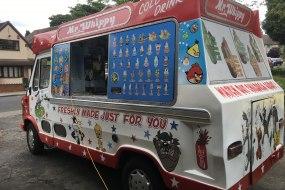 Classic Mr Whippy Ice cream van