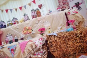 Candy Magic Hay Bale Candy Table