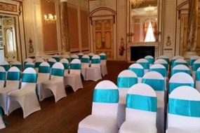 Chair covers and sashes to hire. Various colours to choose from