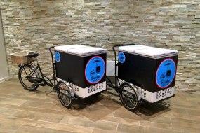 Our Pair of Ice-Cream Vendor Tricycles