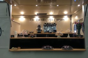 Barista Coffee Van Tea Cakes Treats Soups