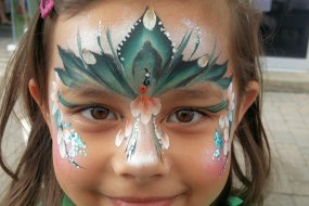 Princess face paint by sunny-faces berkshire