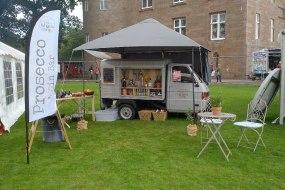 Pop up festival bar - Scottish Gins & Prosecco