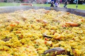 giant paella caterer nottingham leicester