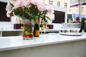 Champagne and cocktail bar hire