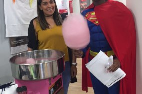 Candy floss hire for all events