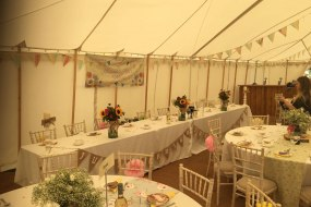 marquee vintage wedding decorations