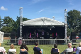 Festival stage hire, staging hire