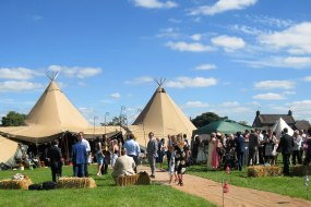 tipi wedding derbyshire