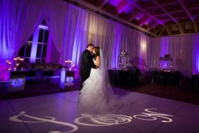 Luxury Wedding Monogram Gobo Projection