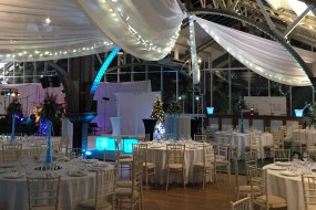 Venue Decoration, Draping & Lighting.