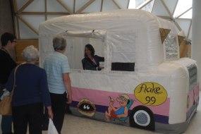 mobile ice cream van