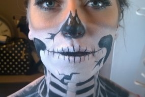 Halloween Adult Face Paint & Makeup Design