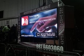 Talk for me App. Outdoor LED Screen display