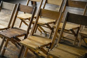 The Jewel in the Crown! - Lafayette folding chairs