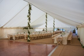 Traditional Marquee lined Lewis Marquees