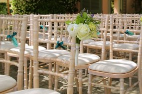 Limewash Chiavari Wedding Chair