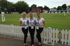 Event Hostesses at Lords Cricket for a Large American Bank
