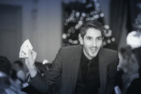kev g wedding magician