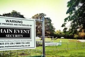 Main Event Security - Site Guarding