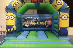 Minions Bouncy Castle Hire Liverpool & Cheshire