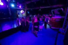 Pop Up Nightclubs - Split level dance floor