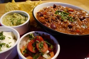 Award winning Mexican Sweet Chilli Con Carne (UKCC Public Vote Winner SW 2014)