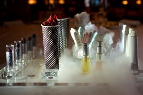 Quirky Canapes: Edible lipstick sorbets & edible perfume